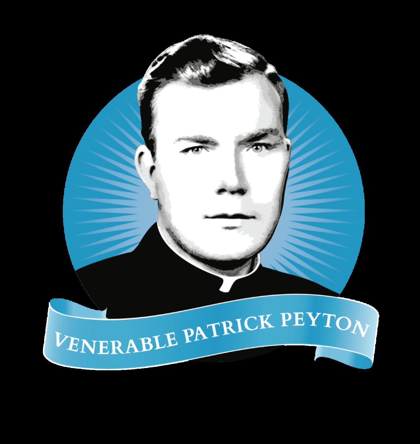 Father Peyton Prayer Guild logo cropped close